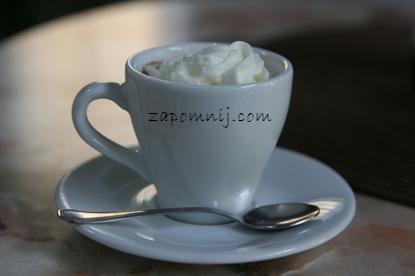 espresso ze śmietanką