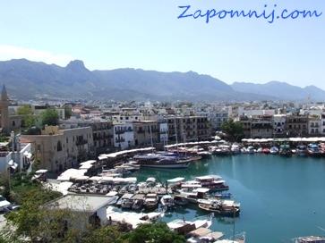 Cypr Kyrenia port