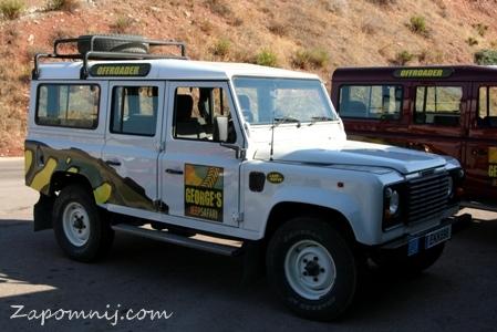 Cypr jeep
